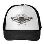 Batman Skull Cowl Batwings Logo Hat
