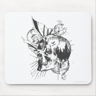 Batman Skull Image Mouse Pad