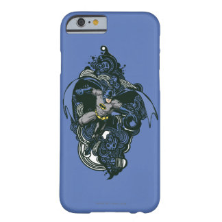 Batman Skulls/Ink Doodle 2 Barely There iPhone 6 Case