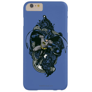 Batman Skulls/Ink Doodle 2 Barely There iPhone 6 Plus Case