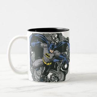 Batman Skulls Ink Doodle 2 Coffee Mug