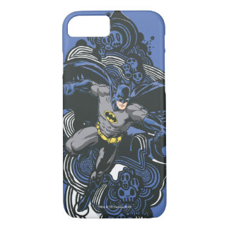 Batman Skulls/Ink Doodle 2 iPhone 7 Case