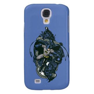 Batman Skulls/Ink Doodle 2 Samsung Galaxy S4 Cover