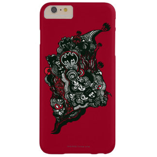 Batman Skulls/Ink Doodle Barely There iPhone 6 Plus Case