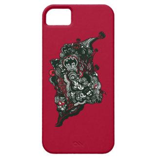 Batman Skulls/Ink Doodle iPhone 5 Cover