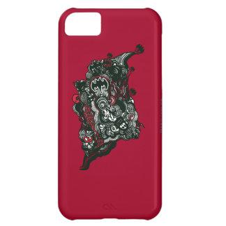 Batman Skulls/Ink Doodle iPhone 5C Case