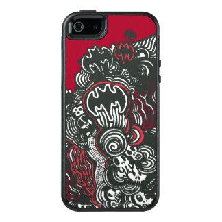 Batman Skulls/Ink Doodle OtterBox iPhone 5/5s/SE Case