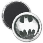 Batman Spray Symbol 2 6 Cm Round Magnet