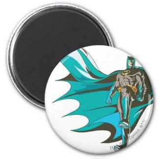 Batman Standing 6 Cm Round Magnet