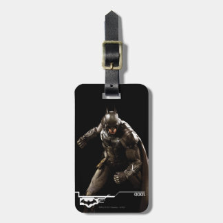 Batman Standing With Cape Luggage Tag