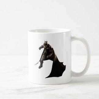 Batman Standing With Cape Basic White Mug