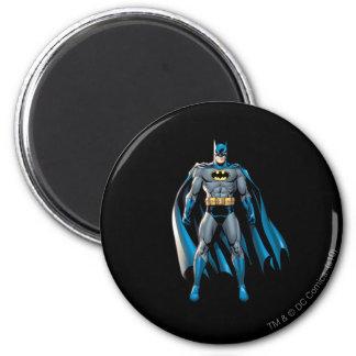 Batman Stands Up 6 Cm Round Magnet