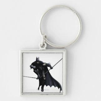 Batman Stepping On Line Keychain