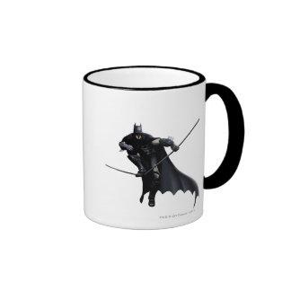 Batman Stepping On Line Coffee Mug