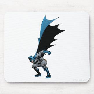 Batman stomps boots mouse pad