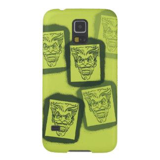 Batman Street Heroes - 6 - Joker Green Stamps Case For Galaxy S5