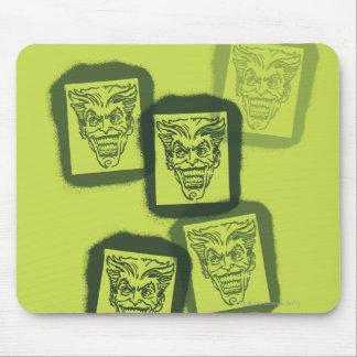 Batman Street Heroes - 6 - Joker Green Stamps Mouse Pad