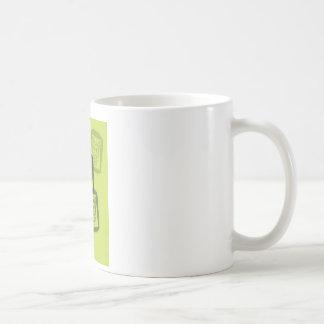 Batman Street Heroes - 6 - Joker Green Stamps Basic White Mug