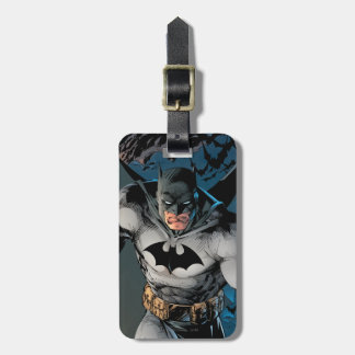 Batman Stride Luggage Tag