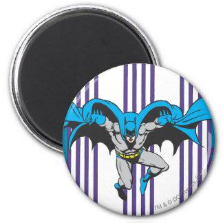 Batman Stripes 6 Cm Round Magnet