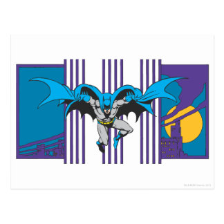 Batman Stripes Postcard