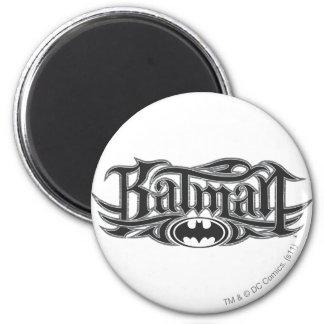 Batman | Stylized Logo 6 Cm Round Magnet