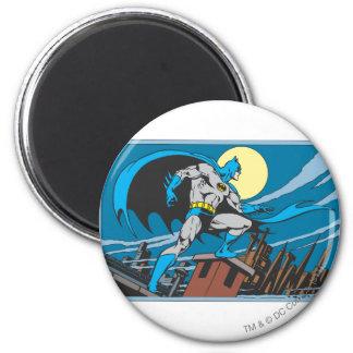 Batman Surveys City 6 Cm Round Magnet