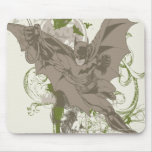 Batman Swinging Collage with Skull Mouse Pad