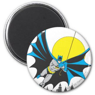 Batman Swings Refrigerator Magnets