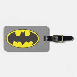 Batman Symbol | Bat Oval Logo Luggage Tag