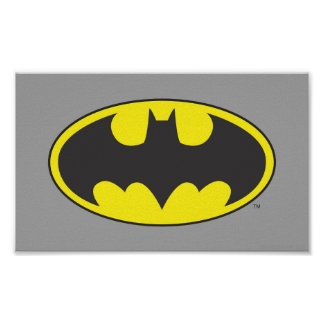 Batman Symbol | Bat Oval Logo Poster