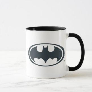Batman Symbol | Black and White Logo Mug