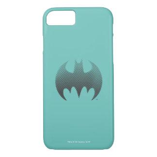 Batman Symbol | Black White Fade Logo iPhone 8/7 Case