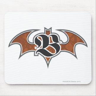 Batman Symbol | Brown Logo Mouse Pad