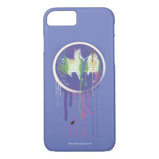 Batman Symbol | Circle Purple Logo 2 iPhone 8/7 Case