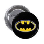 Batman Symbol | Classic Logo 6 Cm Round Badge