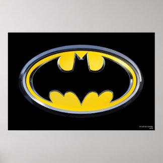 Batman Symbol   Classic Logo Poster