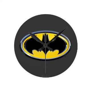 Batman Symbol | Classic Logo Round Clock