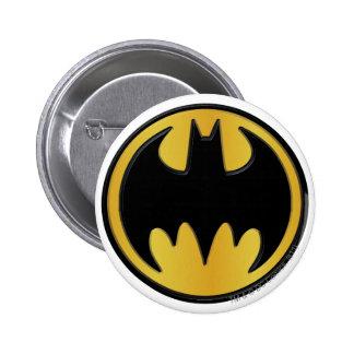 Batman Symbol | Classic Round Logo 6 Cm Round Badge