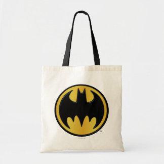 Batman Symbol | Classic Round Logo Budget Tote Bag