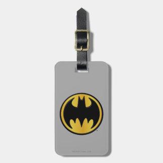 Batman Symbol | Classic Round Logo Luggage Tag
