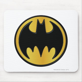 Batman Symbol | Classic Round Logo Mouse Pad