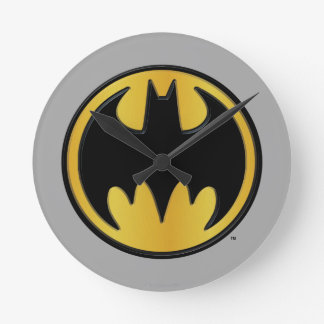 Batman Symbol | Classic Round Logo Round Clock