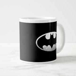 Batman Symbol | Grainy Logo Large Coffee Mug