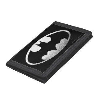 Batman Symbol | Grainy Logo Tri-fold Wallets