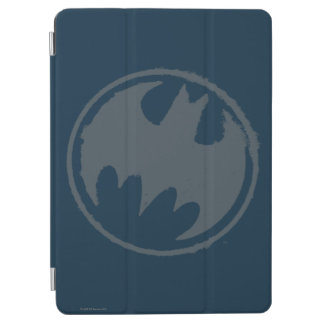Batman Symbol | Gray Grunge Logo iPad Air Cover