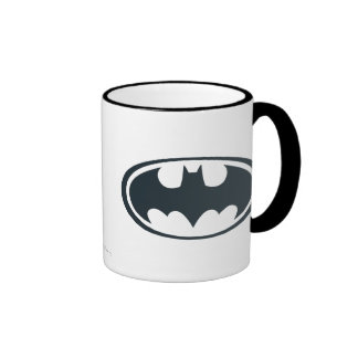 Batman Symbol Ringer Mug