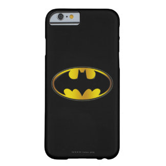 Batman Symbol | Oval Gradient Logo Barely There iPhone 6 Case