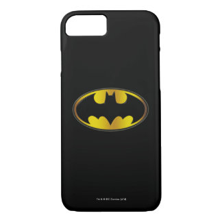 Batman Symbol | Oval Gradient Logo iPhone 7 Case