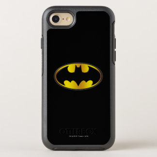 Batman Symbol | Oval Gradient Logo OtterBox Symmetry iPhone 8/7 Case